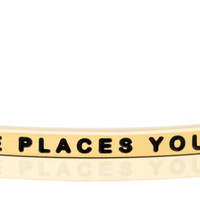 Oh, The Places You'll Go bracelet from MantraBand