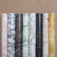 Thickening marble adhesive waterproof wallpaper