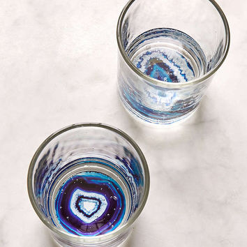 Geode Bottom Glasses Set | Urban Outfitters