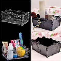 Clear Acrylic Lipstick Holder Display Stand Cosmetic Organizer Makeup Sundry Storage Box Search Free shipping S453