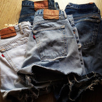 SAN FRANCISCO Custom Made Levi's Vintage High Waisted by Deadenim