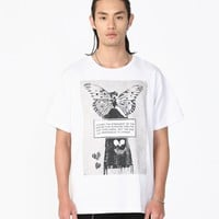 Responsive to Change Tee in White