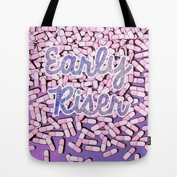 Early Riser Tote Bag by BAMBI ONASSIS
