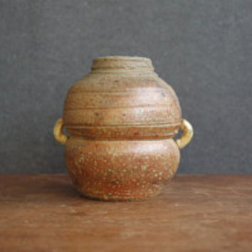 Mid Century Modern Ceramic Vase - Hand Crafted Studio Pottery Pot