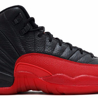 Jordan 12 Flu Game 2016 Black and Varsity Red (GS)
