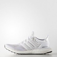 Adidas Ultra Boost M Triple White Black Sole NOW Shipping S77416