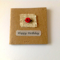 Rose Cards, Handmade cards, Gift Cards, Recycle personalized cards, Birthday cards, Anniversary Cards