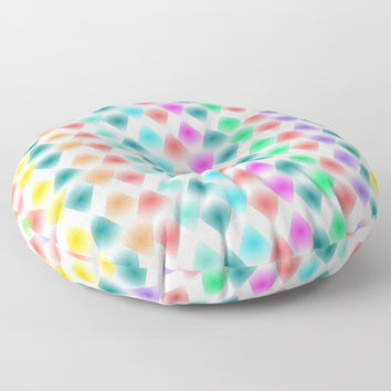 zappwaits K3 Floor Pillow by netzauge