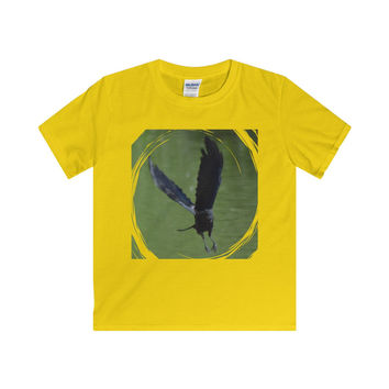 As the Crow Flies- Softstyle Youth T-Shirt