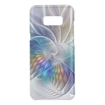 Floral Fantasy, Colorful Abstract Fractal Flower Get Uncommon Samsung Galaxy S8 Plus Case
