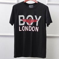 BOY LONDON 2019 new limited edition hot stamping cotton short-sleeved T-shirt