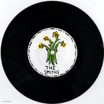 "The Smiths Daffodil 7"" Painted Vinyl"