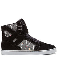The Skytop LX High Top Sneaker in Black and Multi