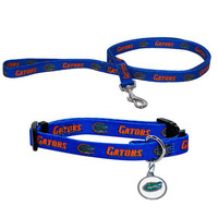 Florida Gators NCAA Dog Collar & Leash Set