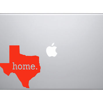 5 Texas HOME. Vinyl decal great for cars macbooks by OwlOutfitters