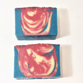Ma Belle Fille Soap, Floral Soap, Women's  Cold Process Soap, Sweet Woods Soap, Musk Soap, Homemade Soap, Handmade Soap, Halloween Soap