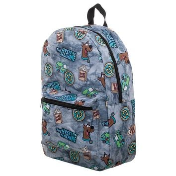 MPBP Scooby Doo Backpack Mystery Machine Bag - Scooby Doo Gift Mystery Machine Backpack Sublimated Backpack