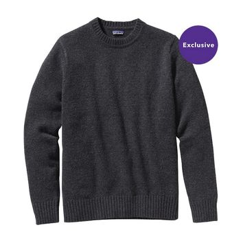 Patagonia Men's Reclaimed Wool Crewneck Sweater