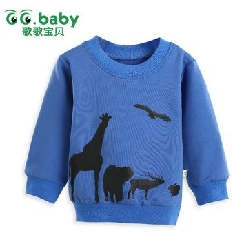 Cheap Infant Clothing Winter Newborn Baby Boys Toddler Kids Clothes Long Sleeve Tees Tops Boy T Shirt For Boy Children Sweater