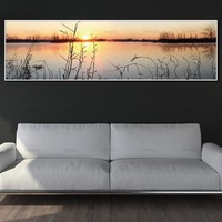 wall picture canvas painting art prints landscape on canvas and posters  no frame wall art picture decoration for living room