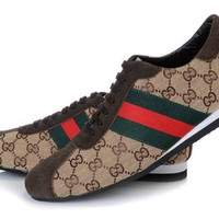 Gucci Inspired Tennis Shoes