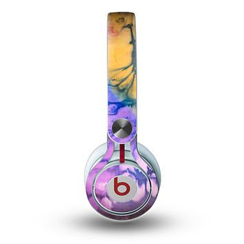 The Vivid Colored Wet-Paint Mixture Skin for the Beats by Dre Mixr Headphones