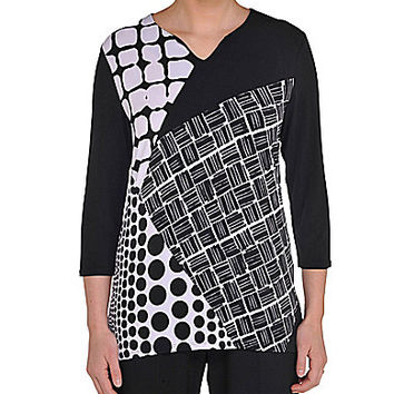 Allison Daley Patch-Print Tunic - Patch
