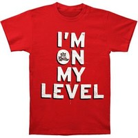 Wiz Khalifa Men's On My Level T-shirt Red