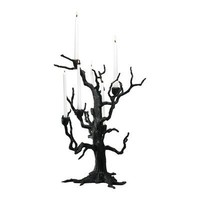 Cyan Design 02831 Tree Table Candleholder Decorative Candle Holder, Old World  - Decor Universe