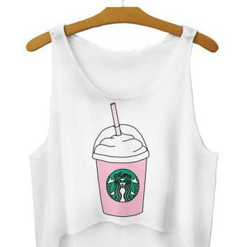 Starbucks Crop Tops