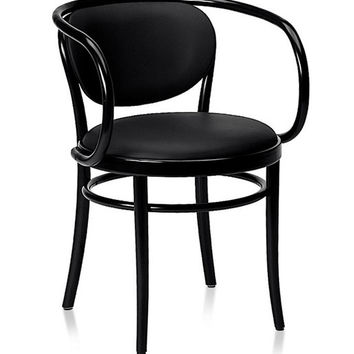 Gebruder Thonet Wiener Stuhl Bentwood Armchair with Closed Back by GTV