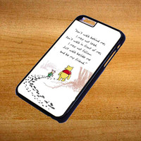 Disney Winnie The Pooh Quotes For iPhone 6 Plus Case *76*