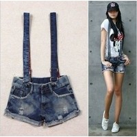 GIFT+Free shipping DK 001,Women Short Jeans,Fashion Jumpsuits Pants,Overalls Denim Shorts,Girl Summer Cool wear-in Apparel & Accessories on Aliexpress.com