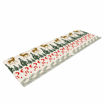 "Famenxt ""Christmas Vibes"" Holiday Pattern Yoga Mat"