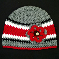 Ohio State Women's Winter Beanie Hat (Child and Baby sizes too)