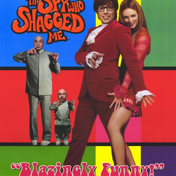 Austin Powers 2: The Spy Who Shagged Me 11x17 Movie Poster (1999)