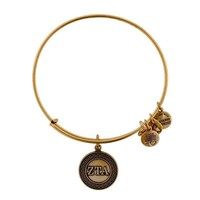 Alex and Ani Zeta Tau Alpha Charm Bangle - Rafaelian Gold Finish