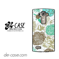 Retro Floral For LG G4 Case Phone Case Gift Present YO