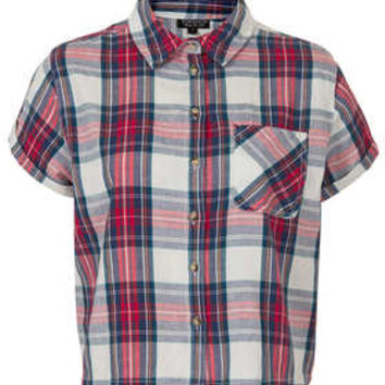 Short Sleeve Check Shirt - New In This Week  - New In