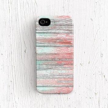 Wood iPhone 5 case Wood Print iPhone 5s case Wedding iPhone 4 case Plastic iPhone 4s cover Mint iPhone 5c case Winter Peach Watermelon  c293