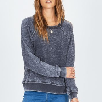 AMUSE SOCIETY | Day Off Fleece - Charcoal