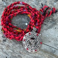 Celtic Knot Spirit Cord Handmade with Compassion and Reiki