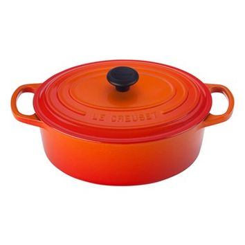 Le Creuset Signature 3 1/2 Quart Round Enamel Cast Iron French/Dutch Oven