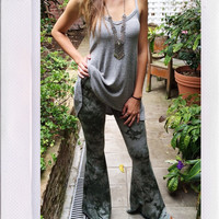Serenity Bell Bottoms- Olive