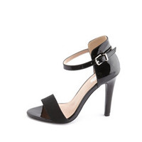 ANKLE-STRAP SINGLE SOLE HEEL