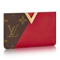 Louis Vuitton Kimono Card Holder Wallet New with Box and Dustbag 5705 (Authentic Pre-owned)