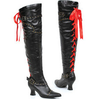 "Women's 2.5"" Thigh High Boot With Laces"