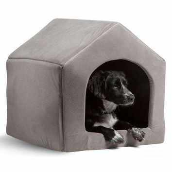 High Quality Pet Products Luxury Dog House Cozy Dog Bed Puppy Kennel 5 Color Pet Sleeping Bed Cat Cushion Kitten Mats Pet Shop