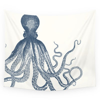Society6 Offset Octopus Wall Tapestry