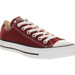 Converse Converse All Star Low Maroon Canvas - Unisex Sports